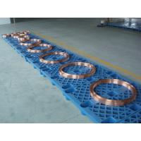 China T2 Copper Forged Forging Rolled  DC motor rotor/HVDC electric motor end rings wholesale