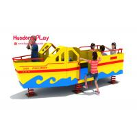 China Huadong Plastic Play Equipment , Economical Play Ground Set Different Playing wholesale