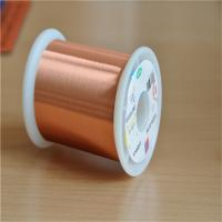 China 0.02mm Ultra Fine Magnet Wire Ul Certificated Transformer Enamelled Copper Wire wholesale