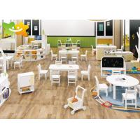 China Economical Wooden Preschool Furniture Easy Cleaning Low Maintain Strudy Structure wholesale