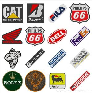 China Personalized Company Logo Embroidery Patch Woven For Clothing Iron On wholesale