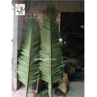 China UVG level 8 wind resistance outdoor ornamental artificial palm tree branches and leaves for theme park landscape PTR057 wholesale