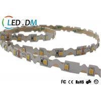 Buy cheap CRI 90 S Shape Flexible LED Strip , SMD 2835 60 LEDs Per Meter LED Rope Light from wholesalers