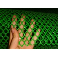 China 20mmx20mm Iso9001 Certificate Green Plastic Mesh 0.1cm Apeture wholesale