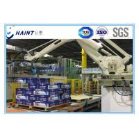 China Chaint Palletizing Robot Arm Intelligent System With Wooden Box Package wholesale