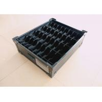 Buy cheap Stackable Antistatic ESD Plastic Components Box With Plastic Divider And Handles from wholesalers