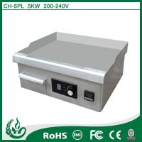 Quality Easy Cleaning Electric Induction Griddle 220v 5000w Catering Equipment for sale