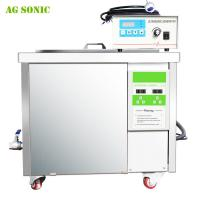 China 360L Carbon Industrial Ultrasonic Cleaner , Ultrasonic Engine Cleaner T-72S wholesale