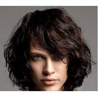 China Soft Deep wave Lace Front Human Hair Wigs , 100% Virgin Unprocessed Half Lace Wig wholesale