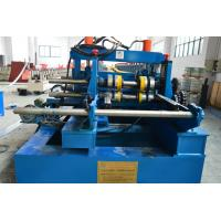 China 100-600mm Width Cable Tray Cold Roll Forming Machine With Punching Press Machine wholesale