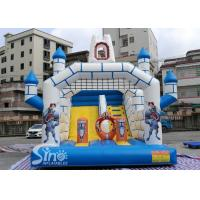 China Outdoor Inflatable Jumping Castle N Bounce House With Slide For Sale From China Factory wholesale