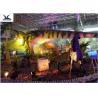 China Indoor Shopping Mall Realistic Dinosaur Statues Decoration Full Size Animal Models wholesale