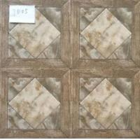 China Glazed Ceramic Tiles 300x300mm Multicolor Ink-jet printing Low Water Absorption Glazed Rustic Tiles wholesale