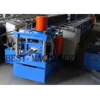 Buy cheap Galvanizned Steel Euro Style Roller Shutter Door Frame Roll Forming Machine from wholesalers