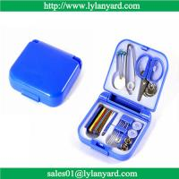 China Portable Travel Sewing Kit Box Needle Threads Scissor Thimble Home Tools wholesale