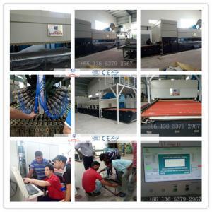China Combined Flat & Bend Glass Toughening machine / GlassTempering Furnace wholesale
