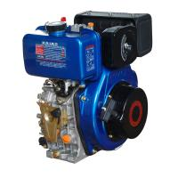 Quality Portable 408cc Air Cooled Diesel Engine With Pressure Splashed Lubricating System wholesale