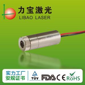 China Machine Vision 25mA 5mw 650nm Laser Diode Module wholesale
