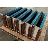 China Copper Tube Aluminum Fin Heat Exchanger , Home Portable AC Heat Exchanger on sale