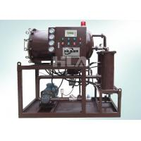 China PLC Automatic Control Fuel Oil Purifier Pure Physical Without Heating System wholesale