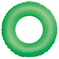 China Lovely Crystal PVC Inflatable Swimming Rings , Small Kids Swim Tube wholesale