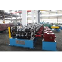 Auto Stacker Highway Guard Rail Roll Forming Machine 8Tons Hydraulic Decoiler