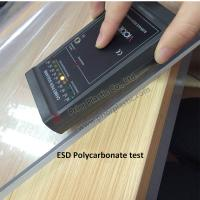 Buy cheap ESD PC/Polycarbonate sheet with 10^6~10^9 Surface Resistivity from wholesalers
