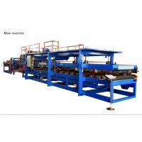Buy cheap 30KW EPS Sandwich Panel Machine Composite Wall Board Moulding Roof Panel from wholesalers