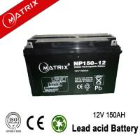China 12V 150AH AGM BATTERY MATRIX wholesale