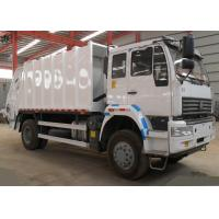 China 10CBM Compressed Garbage Collection Truck , LHD 4X2 Refuse Collection Vehicle on sale