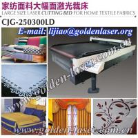 Quality CO2 Laser Fabric Cutter With 100W/150W/200W RF Metal Tube for sale