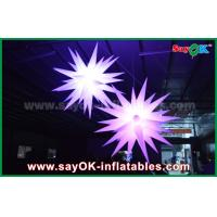 China Giant 1.5m LED Star Balloon Inflatable Lighting Decorations For Pub / Bar wholesale