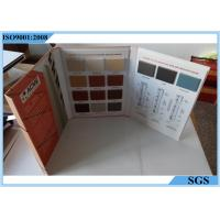 Buy cheap Decorative Materials Granite Sample Book , Cabinet Coated Paper Tile Sample Book from wholesalers