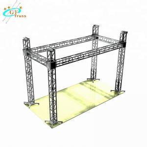 China Square 350 X 350mm Aluminum Spigot Truss For Event Concert Stage wholesale