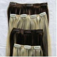 Human Hair Remy Clip In Hair Extension