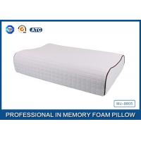 China Contour Hypoallergenic Natural Latex Foam Rubber Pillow For Side Sleeper wholesale