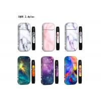 China Colorful Skin Electronic Cigarettes Sticker / Waterproof Pvc Sticker For Iqos 2.4plus wholesale