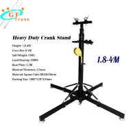 China Line Array Crank Stand Lighting Truss Lift Tower For Hanging Lighting wholesale