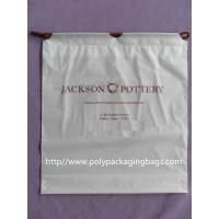 China Dry Cleaning Shop Disposable Plastic Laundry Bag Poly Drawstring Bags / Lundry Bag / Laundri Bag wholesale