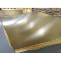 China C26800 Brass Flat Steel Plate 1000*2000mm Zinc Allowance For Hardware Accessories wholesale