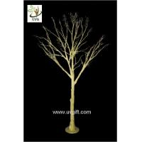 China UVG 10ft artificial gold wishing tree with decorative twigs for party table decorations DTR30 wholesale