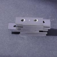 China Tungsten Carbide Reversible Planer Knife Installed on the Helical Cutter Body wholesale