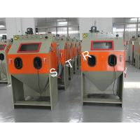 China Industrial Media Blasting Equipment Dustless Burrs Residue Removing Support on sale