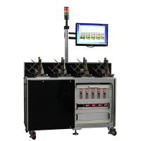 China Five Station Electric Motor Testing System For Motor Life Test , Low Noise wholesale