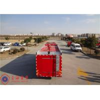 China Foam Capacity 9000kg Fire Pumper Truck , Total Side Girder Heavy Rescue Fire Truck wholesale