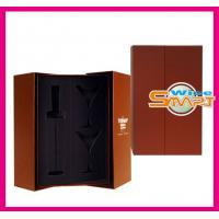 China Foldable Paper board Wine Bottle Box, Wine Packaging Boxes for Gift Packaging wholesale