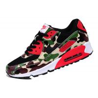 China Sell authentic Nike AIR MAX 90 couples running shoes Camouflage green men's women's shoes wholesale