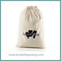China Customized Large Capacity Cotton Laundry Bag, canvas laundry bag on sale