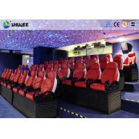 Buy cheap 3 Seats / Set Bearing 450Kg 5D Movie Theater For 39 Chairs Cinema Entertainment from wholesalers