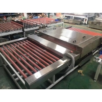 China Hot Drying 380*380mm 1600mm Horizontal Glass Washer wholesale